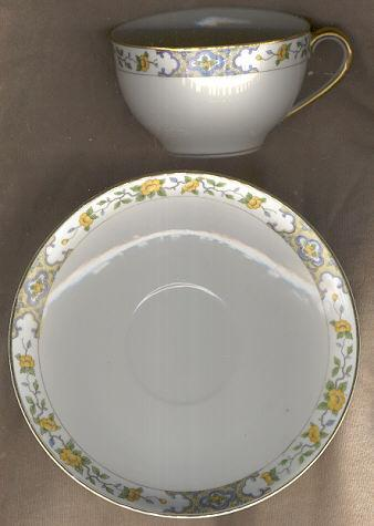 Noritake Nippon China Monterey Cup and Saucer
