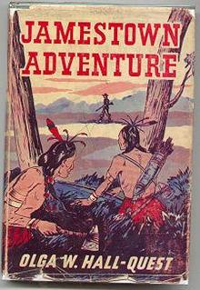 Jamestown Adventure 1950 Historical Fiction