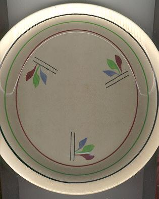 Royal Ceramic Handpainted Pie Plate