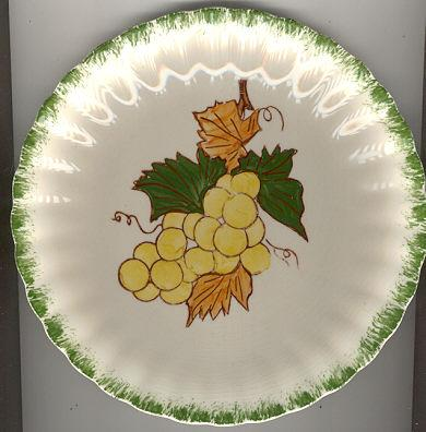 Blue Ridge Country Fair Grape Salad Plate