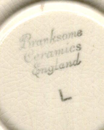 Branksome Ceramics England Cup and Saucer