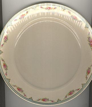Salem China Symphony Dinner Plate