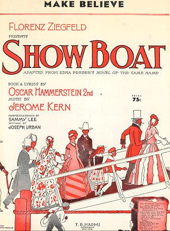 Make Believe Sheet Music from Show Boat