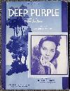 Deep Purple Featured by Doris Rhodes The Girl with the Deep Purple Voice 1939