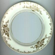 Noritake China Gold Raised Floral Small Plate