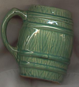 McCoy Pottery Green Mug