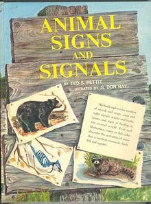 Animal Signs and Signals by Ted Pettit 1961 1st edition