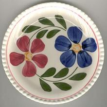 Colette Handpainted Small Plate With Flowers