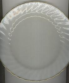 Fire King Golden Shell Dinner Plate