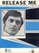 Release Me Recorded by Engelbert Humperdinck 1954 Sheet Music
