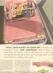 Chevrolet Impala Convertible Magazine Advertisement