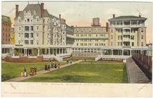 Postcard of The Dennis, Atlantic City, New Jersey