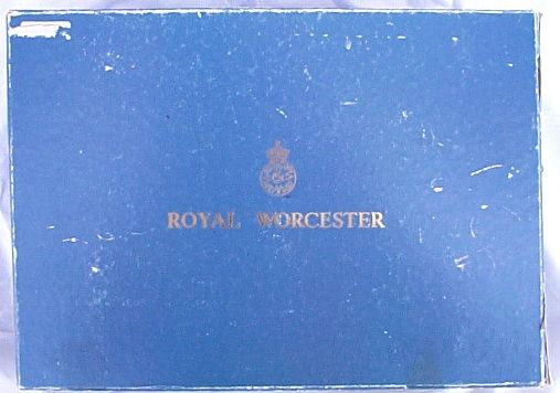 Royal Worcester Boxed Six Coffee Cans