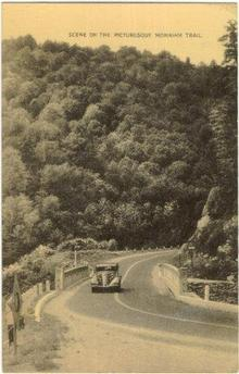 Postcard of Picturesque Mohawk Trail