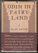 Odin in Fairy-Land by Olav Duun 1932 1st