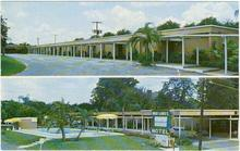 Postcard of Mid-lakes Motel, Leesburg, Florida