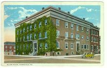 Postcard of Allen House, Honesdale, Pennsylvania
