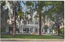 Postcard of Linden House in Natchez, Mississippi