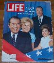 Life Magazine August 16, 1968 The Nixons and The Agnews Finale at Miami Beach