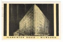 Postcard of Plankinton House in Milwaukee, Wisconsin 1960