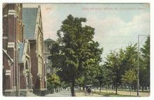 Postcard of View on East Broad Street, Columbus, Ohio 1909