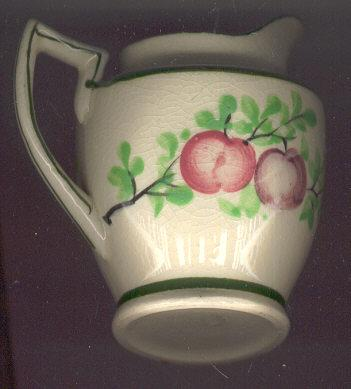 Made in Japan Creamer with Fruits & Leaves