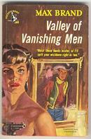 Valley of Vanishing Men by Max Brand Pocket Books 609