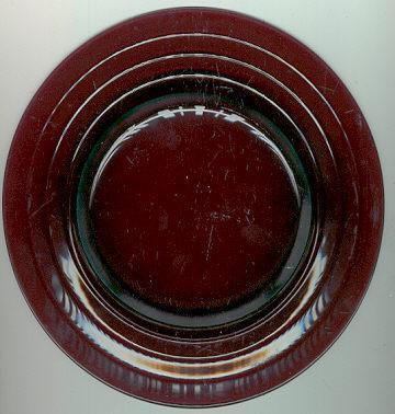 Amethyst Glass Desert Plate
