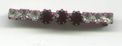 Rhinestone Bar Pin