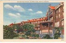 Postcard of The Mayview Manor, Blowing Rock, North Carolina