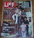 Life Magazine September 24, 1971 Jackson Five with Mom and Pop on cover