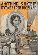 ANYTHING IS NICE IF IT COMES FROM DIXIELAND 1919 Sheet Music