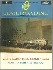 Scale Railroading Magazine Number 70 September/October 1981 Long Island Club