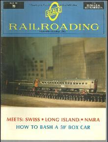 Scale Railroading Magazine Number 70 September/October 1981 Long Island Club