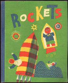 Rockets by William Durr 1976 School Book Illustrated