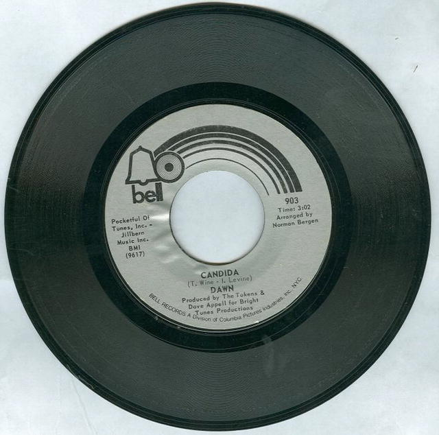 Dawn Candida/Look At 45RPM Record