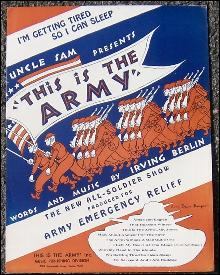 I'm Getting Tired So I Can Sleep From Irving Berlin's This is the Army 1942