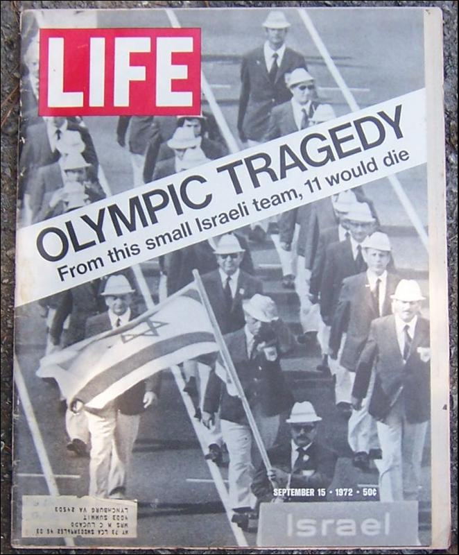 Life Magazine September 15, 1972  Olympic Tragedy in Munich on cover