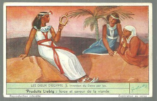 Victorian Trade Card for Liebig Company's Fleisch-Extract  With Egyptian Scene