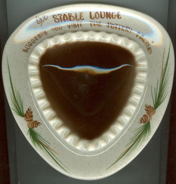 Stable Lounge Large Pottery Ashtray