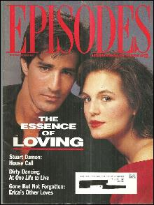 Episodes ABC Soaps Magazine September/October 1991 The Essence of Loving Cover