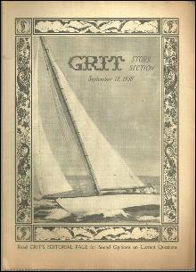 Grit Story Section Magazine September 18, 1938 Vintage Fiction, Poetry, Cartoons