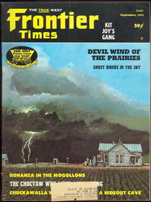 Frontier Times Magazine August-September 1971