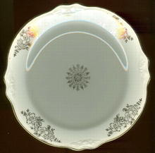 Homer Laughlin Virginia Rose Woodland Small Plate