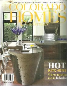 Colorado Homes and Lifestyles Magazine September/October 2009 Hot Kitchens