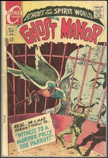 Ghost Manor Charleton Comic September 1968 Echoes of the Spirit World