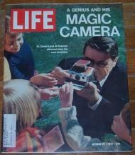 Life Magazine October 27, 1972 Dr. Edwin Land of Polaroid and His New Invention
