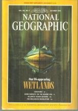 National Geographic Magazine October 1992 Our Disappearing Wetlands