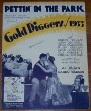 Pettin' in the Park From Gold Diggers of 1933 with Warren William, Joan Blondel