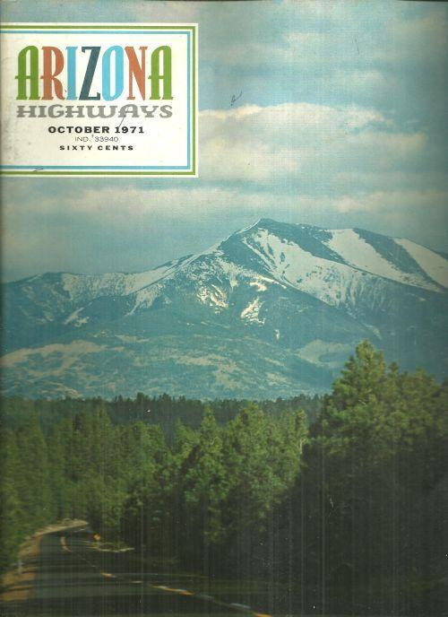 Arizona Highways Magazine October 1971 Arthur Dailey Photographer